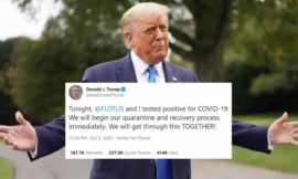 Donald Trump Tests Positive for COVID-19
