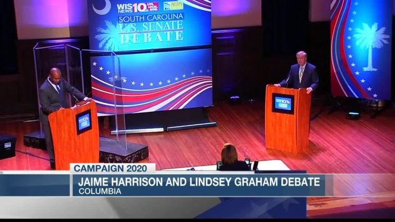 First 2020 SC Senatorial Debate: Jaime Harrison vs Lindsey Graham